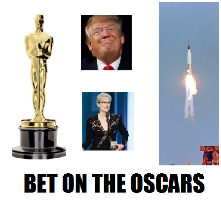 Where can i bet on the oscars in vegas pottish betting sites