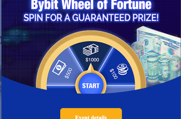 Bybit the Getto version of Bitmex with a Spinning Bonus Wheel and