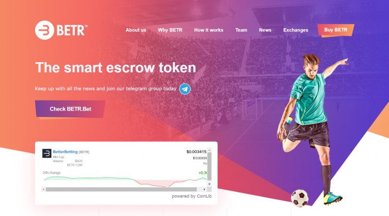 Interview with Adrian Brink CEO of BETR – Blockchain based Sports Betting